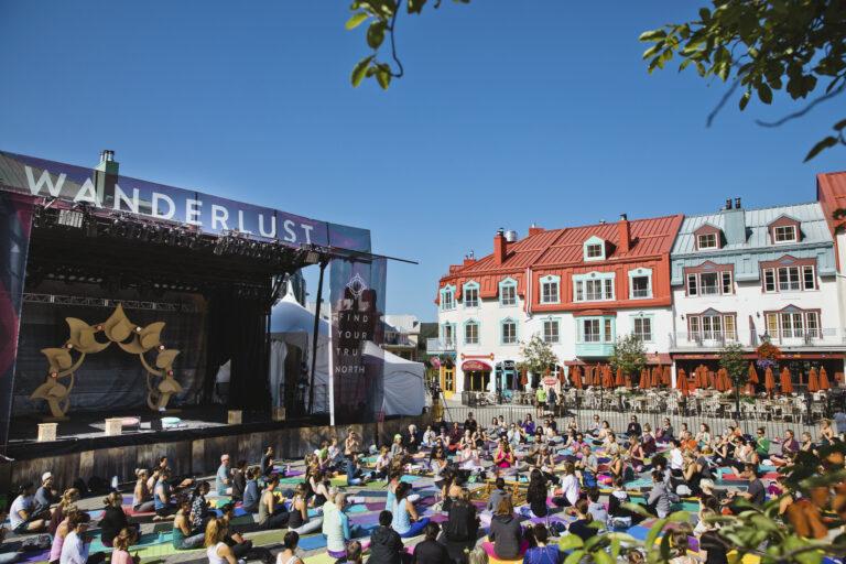 Mont Tremblant Wanderlust Festival starts today