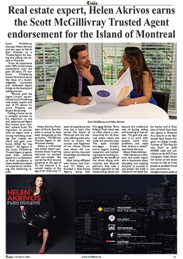 Montreal Times Helen Akrivos
