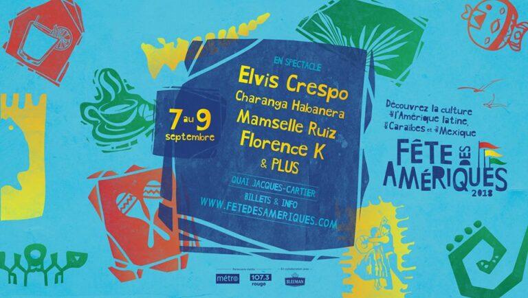 Miami's Fête des Amériques arrives tomorrow in Montreal !