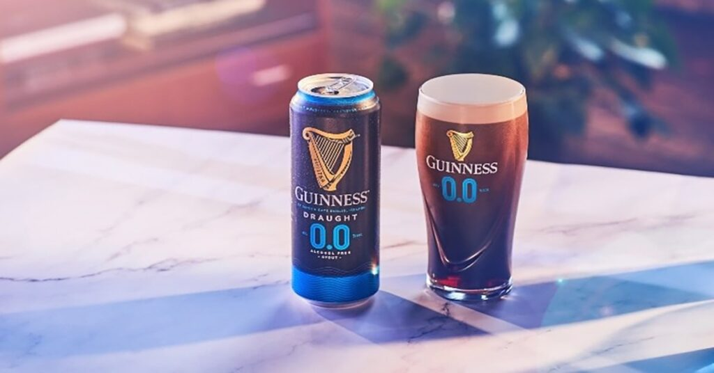 no-alcohol Guinness 0.0