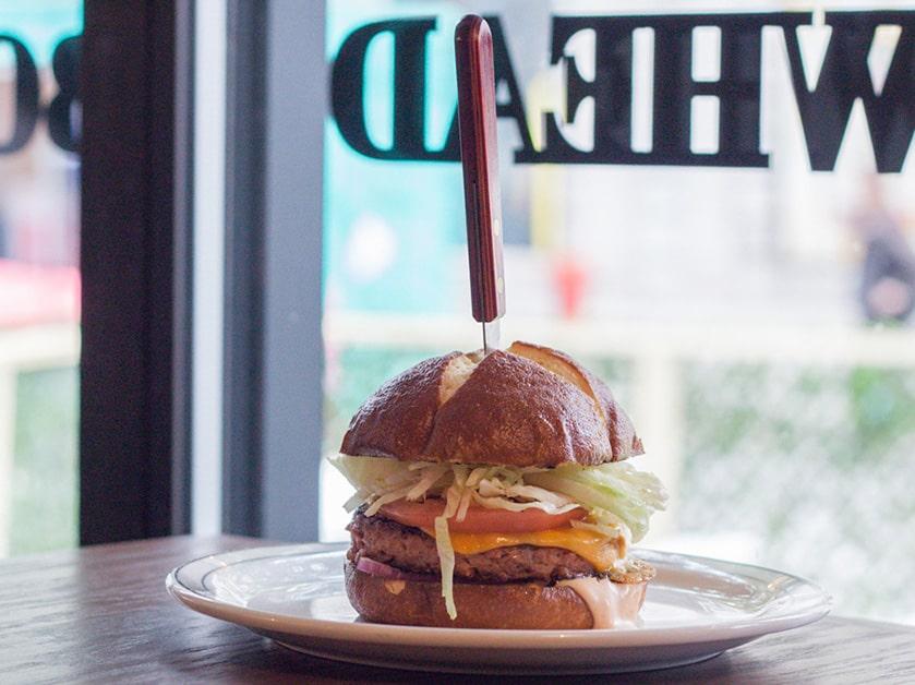 Bowhead vegan burger