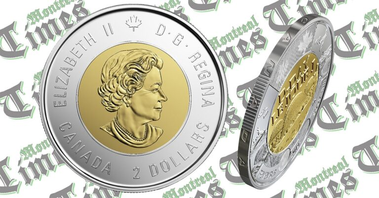 New CDN 75th anniversary D-Day coin