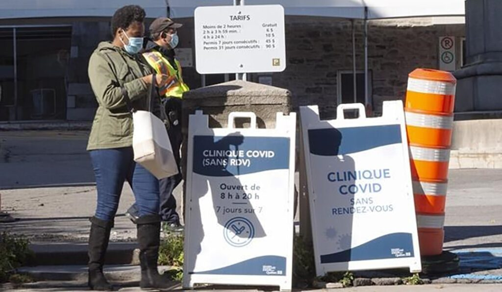 COVID-19 resurgence in Canada