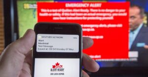 Canada alert test