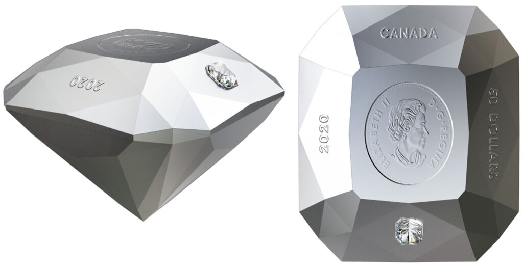 Royal Canadian Mint reinvents the coin