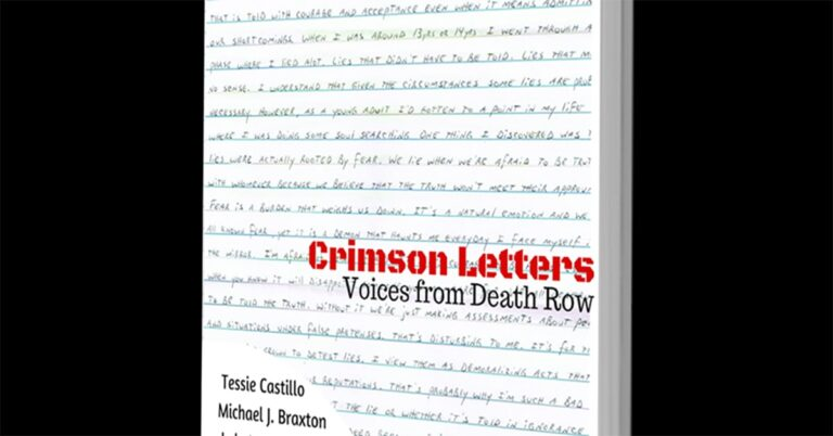 Book review – Crimson Letters: Voices from Death Row by Tessie Castillo