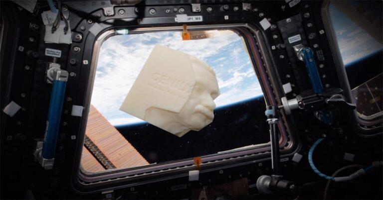 Genius of Albert Einstein inspiration for first ever 3D printed book