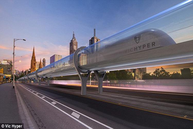 Hyperloop high speed train
