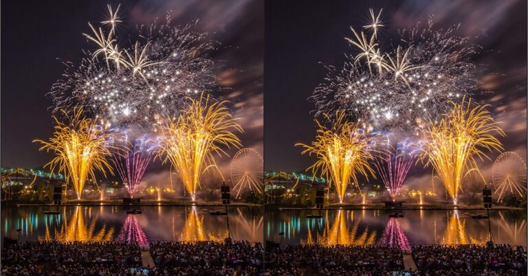 Montreal fireworks special edition