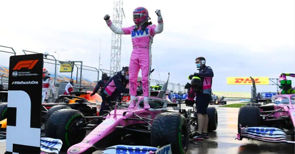 Stroll takes pole at Turkish GP