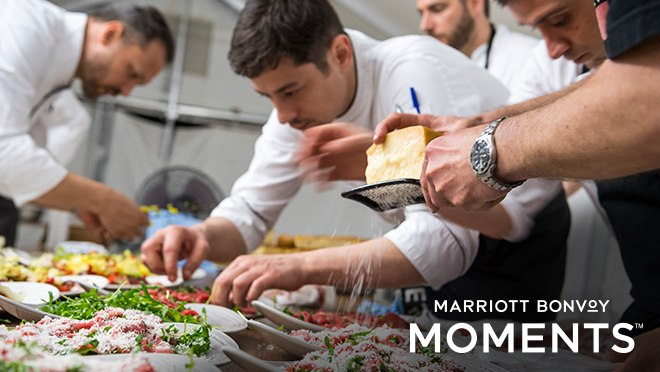 You can now redeem your Marriott BonVoy Rewards for priceless foodie experiences