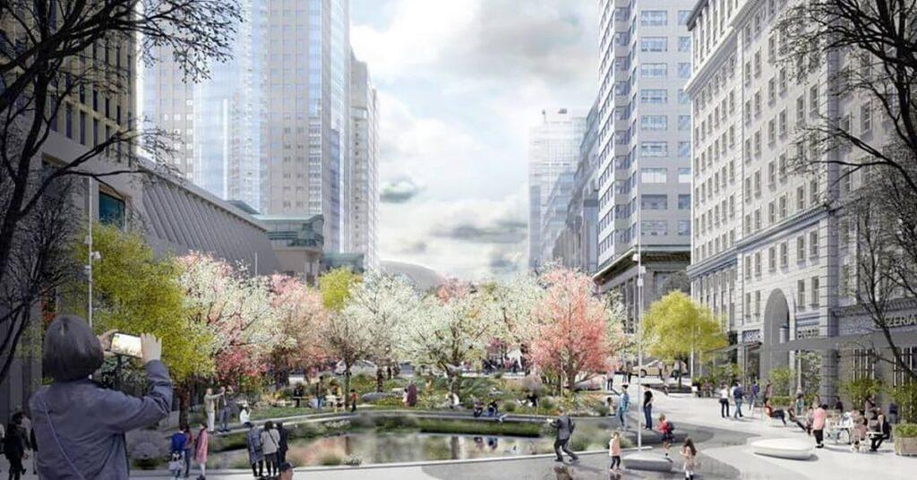 the New McGill College Avenue