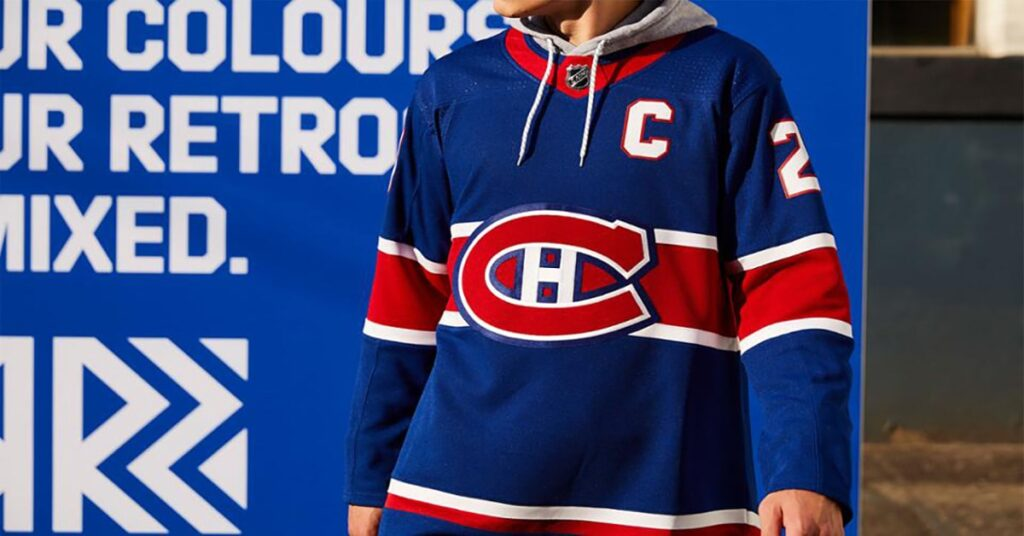 Canadiens to wear new jersey