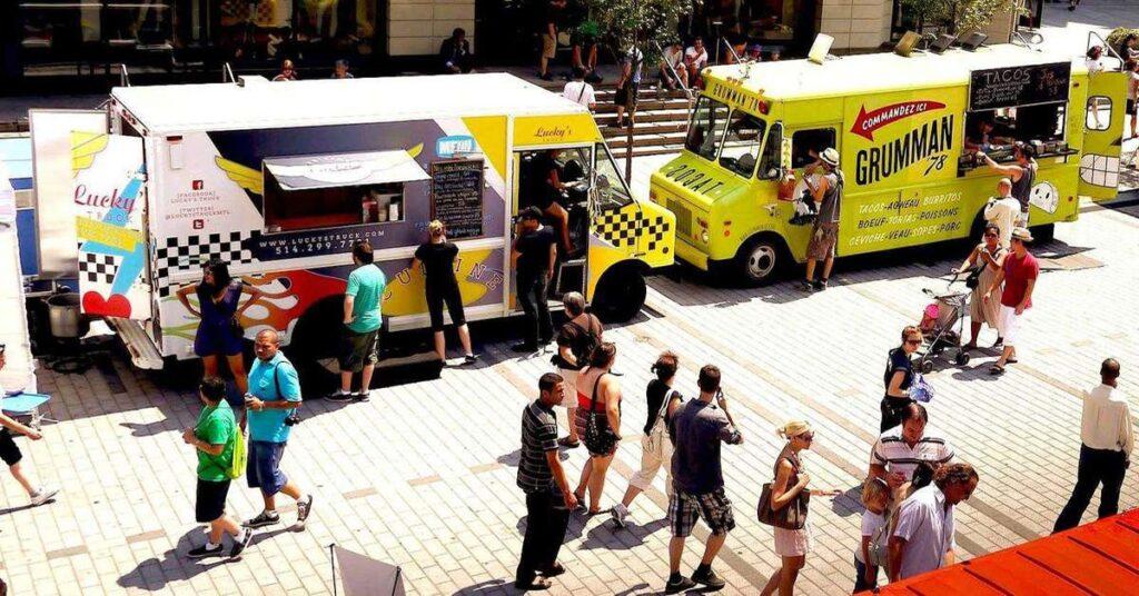 Anjou's Grand PoutineFest and Food trucks