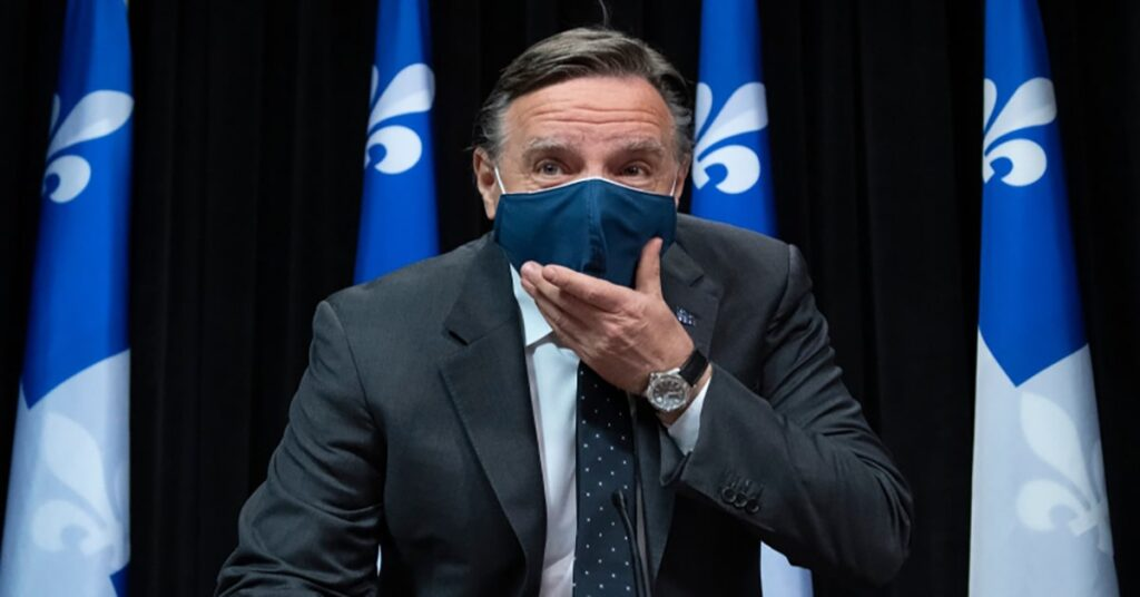 Quebecers forced to wear face masks