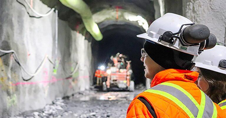 REM construction sites resume operations – (photos)