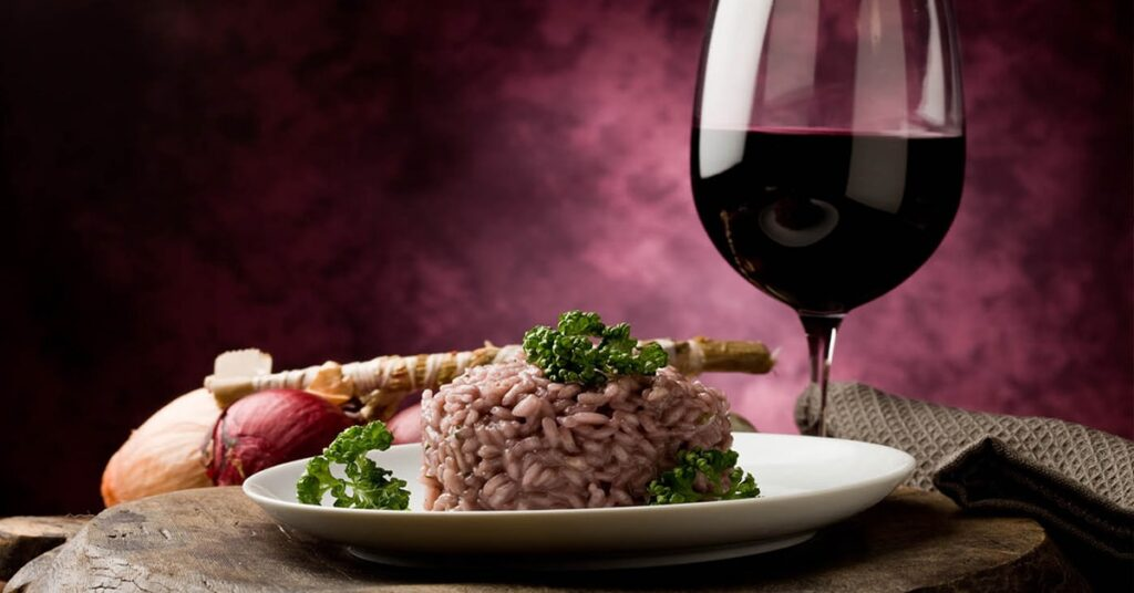 Risotto and wine pairings