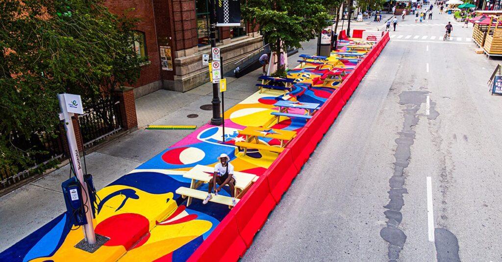 Montreal St. Laurent Boulevard MURAL Festival