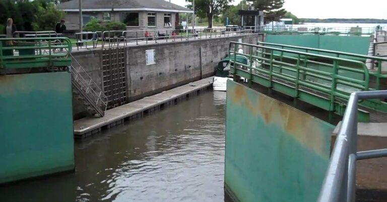 It's official boating season as started – Ste Annes Locks Open