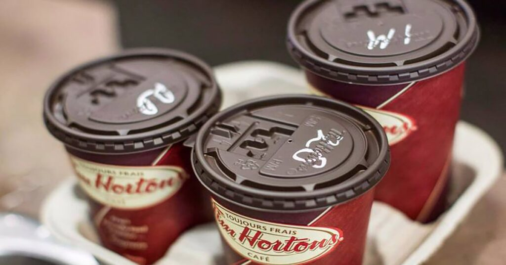 Tim Hortons FREE coffee