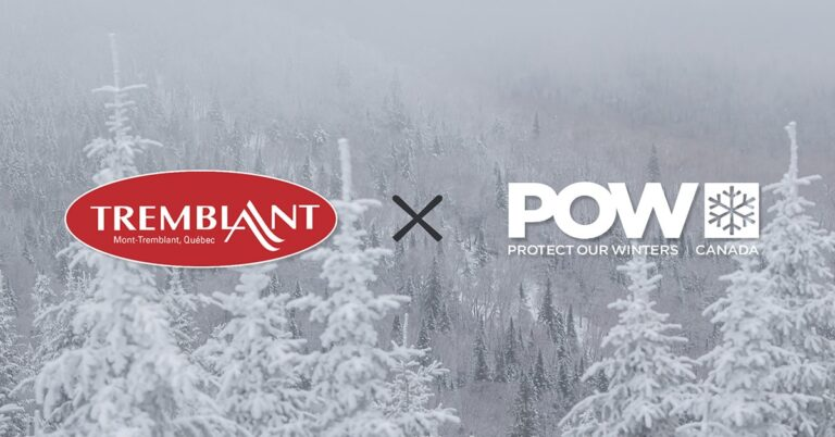 Tremblant first Canadian resort to join 'Protect Our Winters'