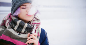 winter vaping