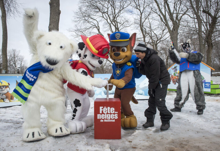 5 activities not to miss at La Fête des Neiges Montreal