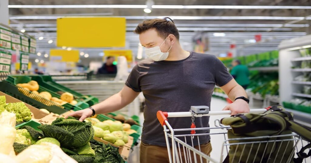 germiest surface in the supermarket