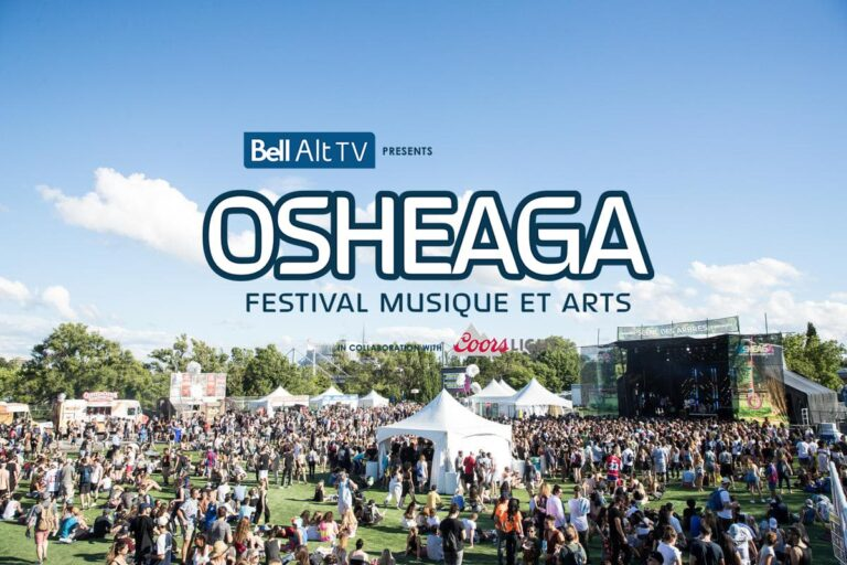 All You Need To Know Before OSHEAGA [Detailed Schedule + New Site ]