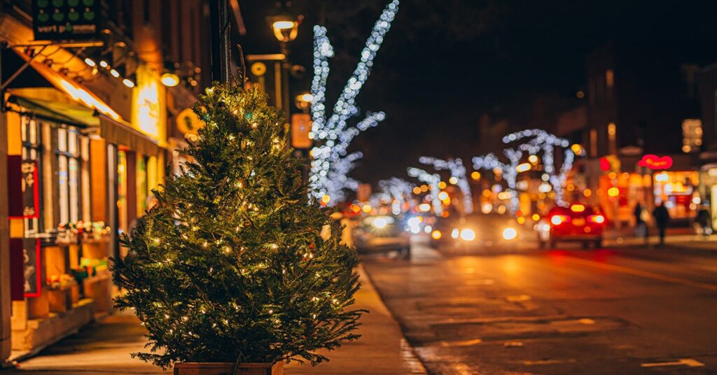 Promenade Wellington Christmas