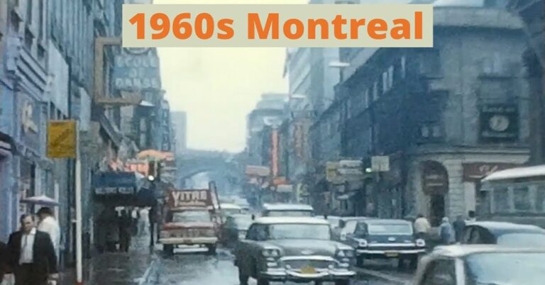 A look back at Montreal in the 60s (video)