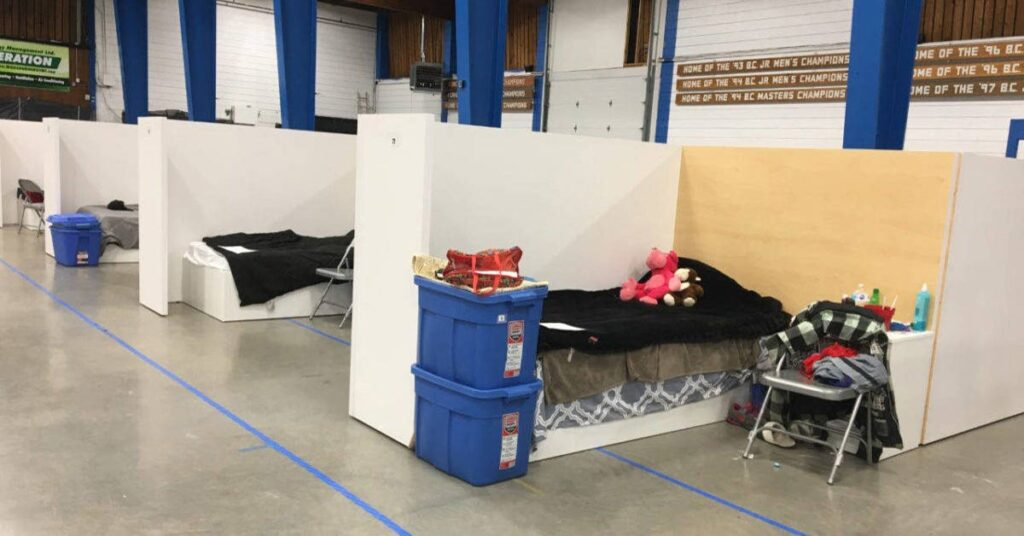 Montreal opens temporary homeless shelters