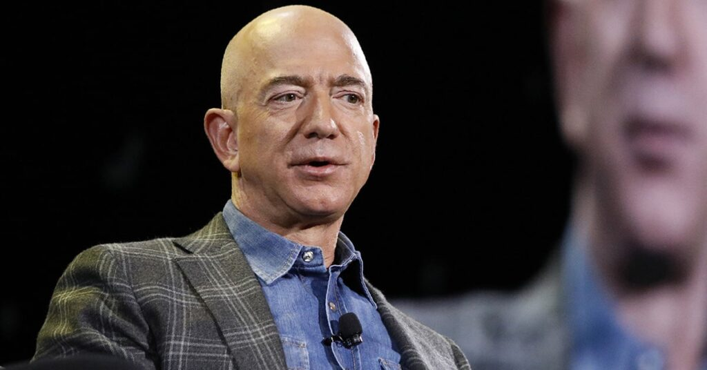 Amazon CEO Jeff Bezos stepping down
