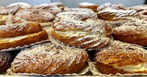 in search of Montreal's best Zeppole