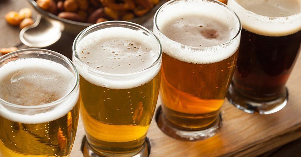 craft beer storage