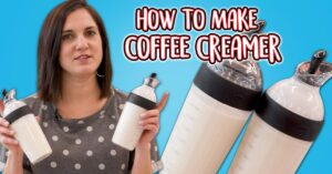 make your own coffee creamer