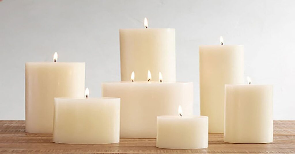 Bar scented candles