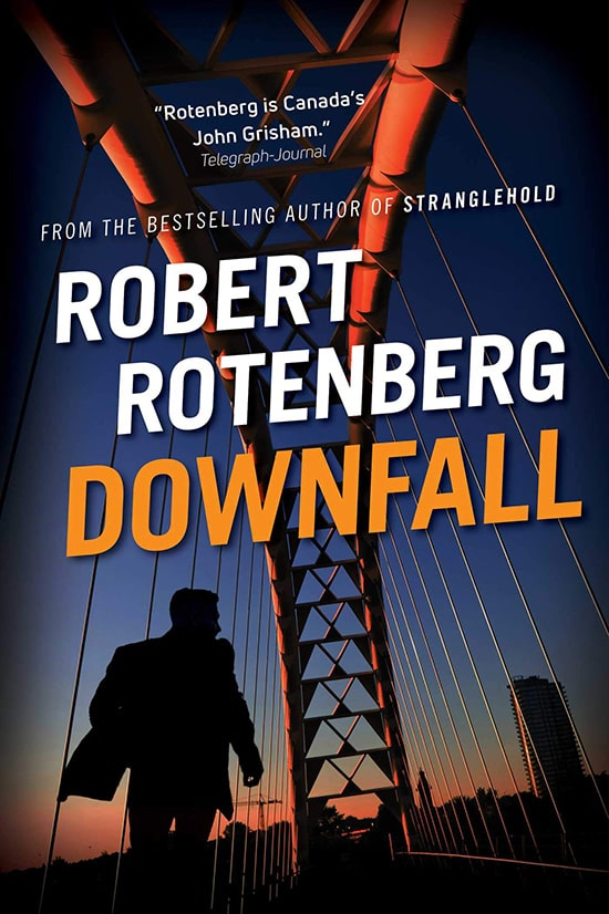 Downfall book cover by Robert Rotenberg-min