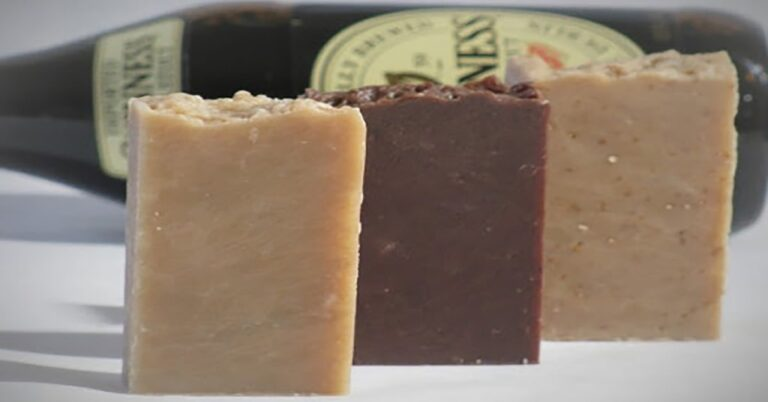 Irish stout oatmeal soap at Earth to Body Boutique