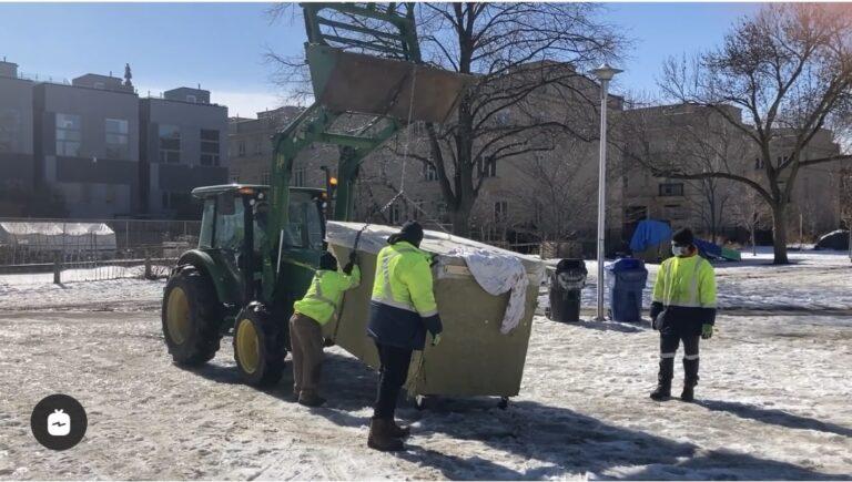 Toronto tiny shelter builder vs City of Toronto – Legal fees adding up