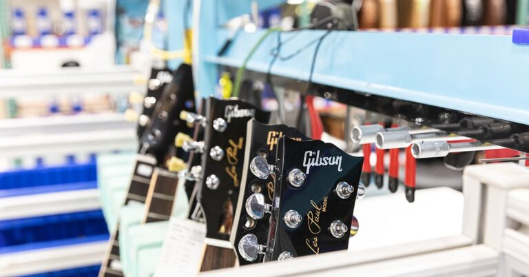 Gibson launches Gibson Repair and Restoration Shop