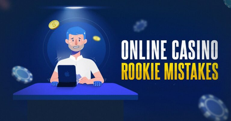 mistakes made in online casinos