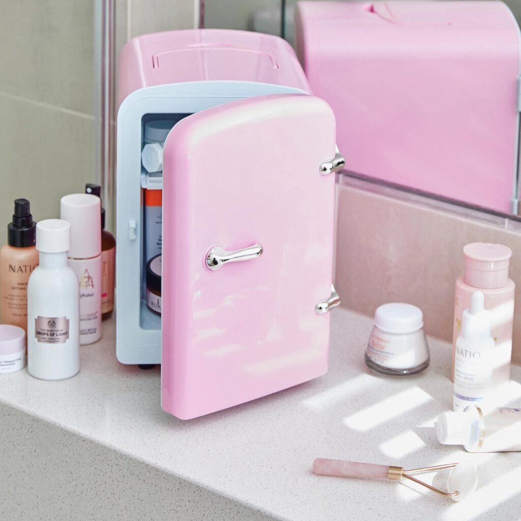 skincare beauty fridge