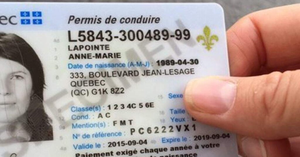 Quebec Driver licence fee slashed