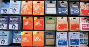 stolen gift cards