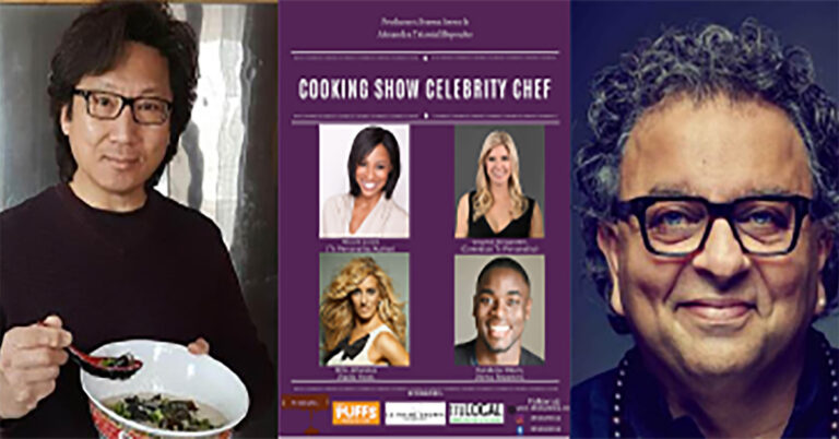 Cooking show challenge Celebrity chef edition