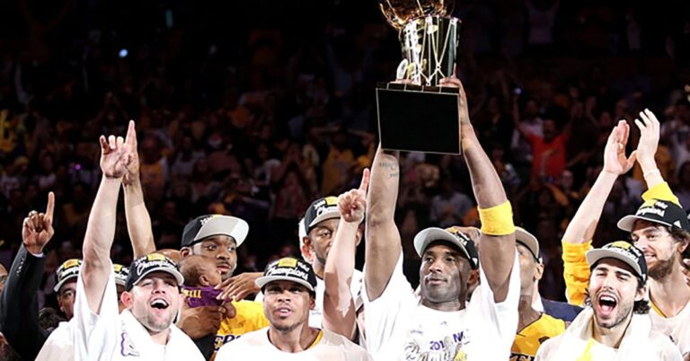 Lakers retain their crown