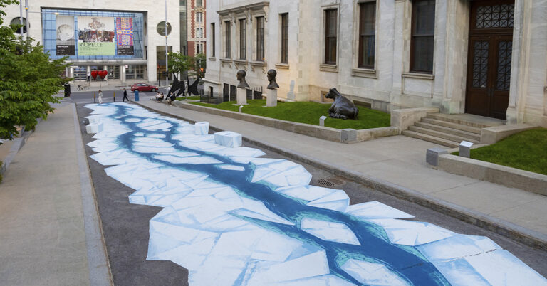 A Du Musée Avenue Installation by Collectif Incognito