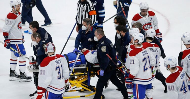 Vicious hit over shadows Canadiens win