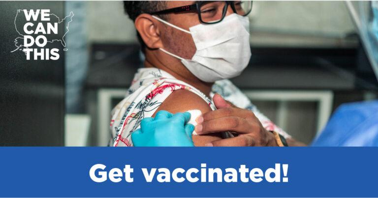 encourage COVID-19 vaccination